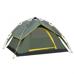 Four-Person Outdoor Camping Prevent Hurricane Rainproof Double Tent