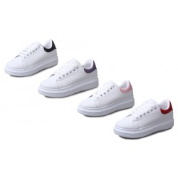 Comfortable Casual White Flat Shoes For Women