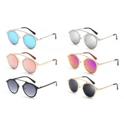 Fashion Round Men And Women Sunglasses