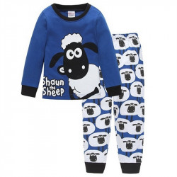 Jungen Blue Sheep Kinder Pyjamas Sets