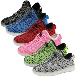 Kid's Lightweight Breathable Lighting Night Sneakers