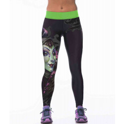 Europe and the United States womens sportswear market personalized printing Slim tight pants slim hip bottoming yoga pants quick sale